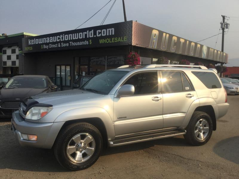 Pre Owned 2003 TOYOTA 4RUNNER LIMITED